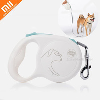 Xiaomi Pet Telescopic Traction Rope 5m Rope length Security Lock Pet Tool Smart Dog Collar Dog Seat Belt Dog Leash Pet Product