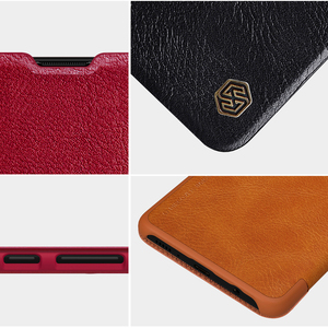 Image 5 - For Samsung Galaxy A51 5G phone case Nillkin Qin Series Flip Leather Case For Samsung Galaxy A51 Luxury Wallet Cover