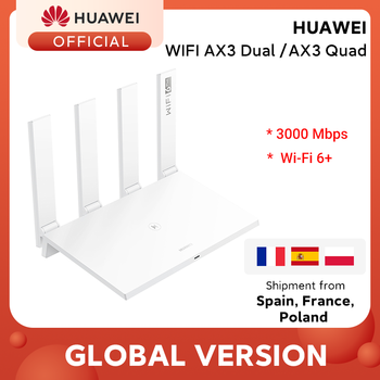 Global Version Huawei Router AX3 Wi-Fi 6 Plus 2.4GHz&5GHz Dual Core 3000Mbps Wireless Wi-Fi Router AX3