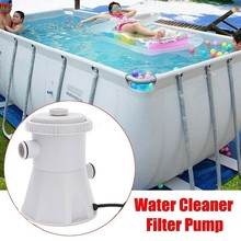 220V Electric Filter Pump Swimming Pool Filter Pump Water Clean Clear Dirty Pool Pond Pumps Filter Pool Water Cleaner #F5 swimming pool filter water pump filter pump lay in clean spa hot tub s1 washable bio foam 2 4 x uk vi lazy z type filter