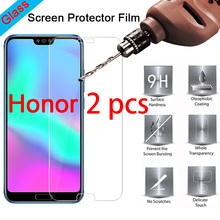 2pcs 9H Tempered Protective Glass For Huawei Honor 10 9 Light Lite Note 10 8 Smartphone Screen Protecor For Honor Play View 10 cheap vacusg CN(Origin) Front Film Honor 4C Honor 3C Honor 4X Honor V9 Honor 9 P9 lite P8 Lite Honor 7 Honor Note 8 Honor 8 Mate 8