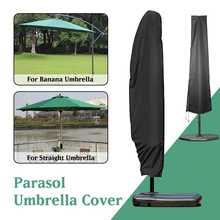 Wodoodporny Parasol zewnętrzny osłona przeciwdeszczowa ogrodowa Patio wiatroszczelna osłona przeciwsłoneczna Parasol ochronny