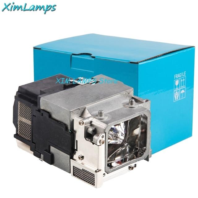 עבור ELPLP65 החלפת מנורת מקרן עם דיור עבור EPSON POWERLITE 1776W V13H010L65, VPLEX100, VPLEX120N
