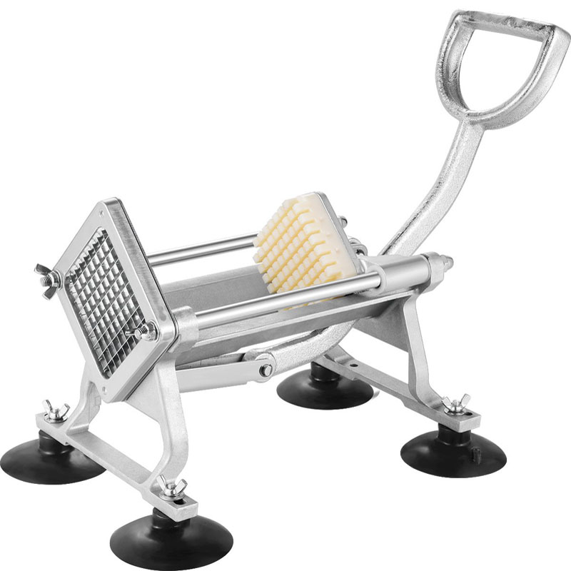 SUCREXU Commercial Manual French Fry Cutter Potato Slicer Vegetable Fruit Dicer Onion Tomato Chopper Restaurant Use