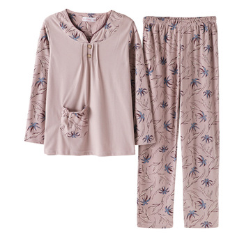 New Cotton Autumn Winter Women Pajamas Sets Nightgown Female Cartoon Pijama Homewear Spring Sleepwear Pyjamas