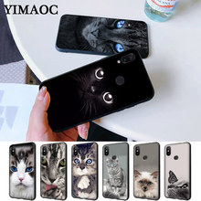 cat kitty blue eyes cute Silicone Case for Redmi Note 4X 5 Pro 6 5A Prime 7 8