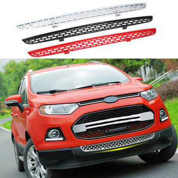 Glossy ABS Front Bumper Lower Grill For Ford Ecosport 2012 2013 2014 2015 2016 Car Accessories