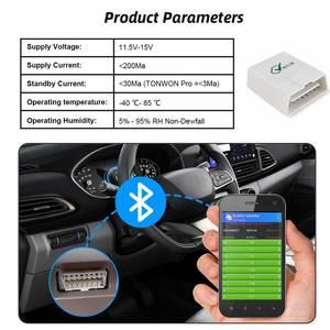 Image 3 - Viecar ELM 327 V1.5 PIC18F25K80 OBD2 Bluetooth 4.0 סורק ODB2 עבור אנדרואיד/IOS OBD OBD 2 רכב אבחון אוטומטי כלי elm327 v1.5