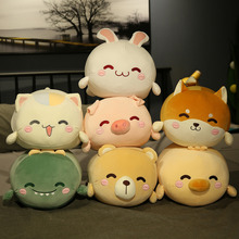 Rabbit Duck Bear Cat Dinosaur Shiba Cute Plush Toy Stuffed Animals Plushies Toys Kawaii Soft Plushie for Children AP
