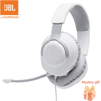 JBL QUANTUM 100 3.5mm Wired Gaming Headset E-Sports 7.1 Surround Channels Gaming Headphones With Mic For PUBG Fortnite OW Gamer