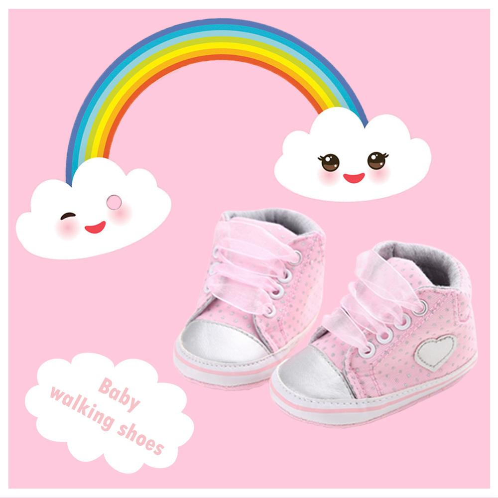 2020 Fashion Baby Girls Shoes Infant Newborn Baby First Walkers Shoes Soft Sole Cute Anti-slip Prewalker обувь для малышей#24