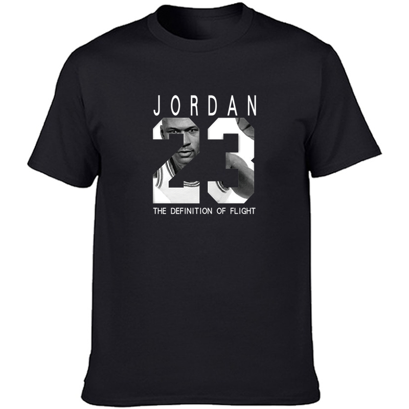 Jordan 23 Men's T-shirts 2019 Summer Tshirt Men Casual T Shirts Cotton O-neck Tops Short Sleeve Hip Hop Tee Shirt Plus Size XXL