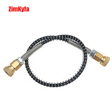 "PCP/Auto Hand Pump Hose for Refill 64Mpa/9000PSI with 8mm Quick Connector 20"" Long"