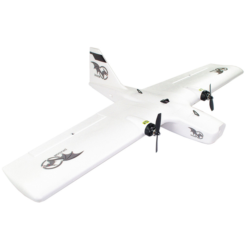 REPTILE DRAGON-1200 1200mm Wingspan EPP Twin Motor Multirole Aerial Survey Model Toys for Boys FPV RC Airplane KIT / PNP image