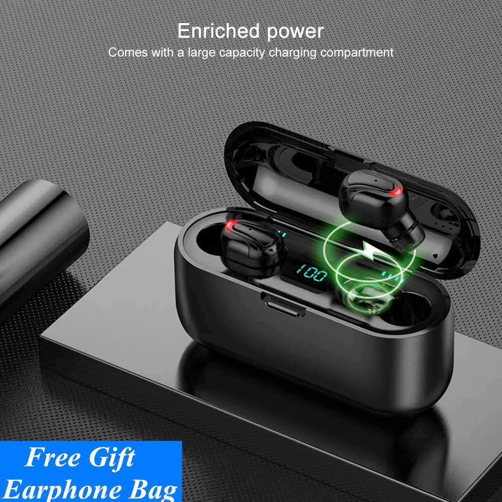 Bluetooth наушники беспроводные наушники водонепроницаемые спортивные наушники hife стерео наушники вкладыши для xiaomi huawei pk Q32