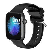 Smart Uhr Männer Voller Touch Fitness Tracker Herzfrequenz Blutdruck Smart Uhr Frauen Smartwatch für Apple Xiaomi HUAWEI Telefon