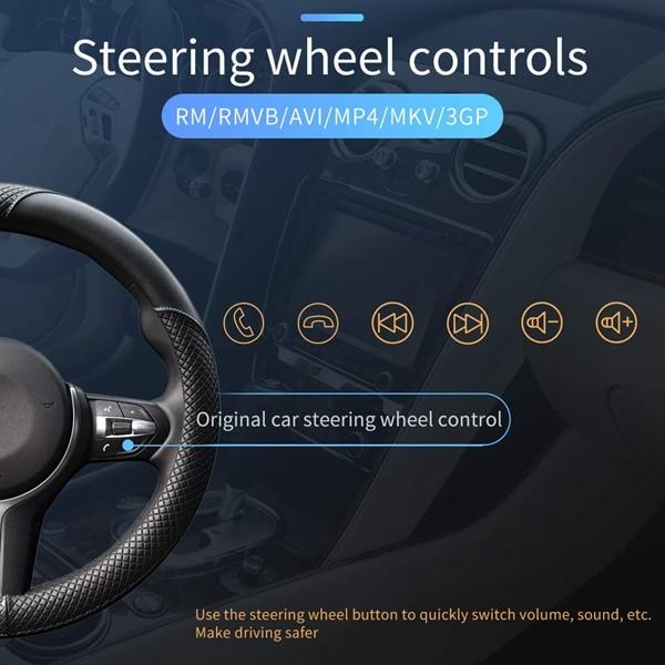 Radio de Audio estéreo para coche de 7 pulgadas 1 reproductor de MP5 Din con pantalla de prensa plegable receptor AM/FM Bluetooth GPS auxiliar USB SD SWC + una copia de seguridad Ca - 5
