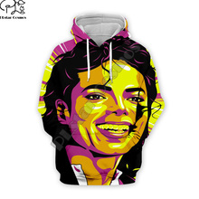 PLstar Cosmos Pop King Michael Jackson casual colorful 3DPrint Hoodie/Sweatshirt/Jacket/shirts Mens Womens hip hop Spacewalk s-6