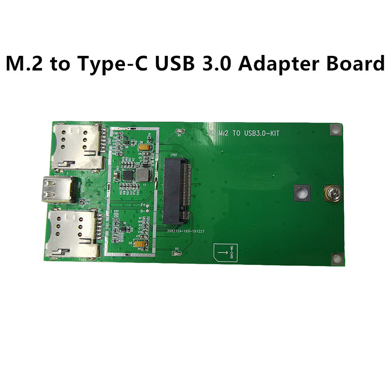 RM500Q RM500Q-GL 5G Module NGFF To Type-C USB 3.0 Adapter M.2 To USB 5G Adapter Board Industrial Grade