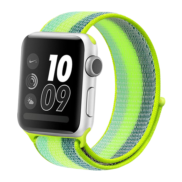 hot selling color Nylon Loop band for Apple Watch Series 4 44mm 40mm Watch strap Sport Bands for iwatch 42mm 38mm 3 2 1 series 5 | Watchbands