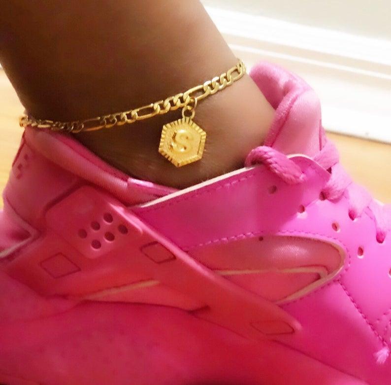 Initial Letter Anklets For Women Boho Jewelry Stainless Steel Leg Bracelet Femme Foot Accessories Best Friend Gifts BFF 2020