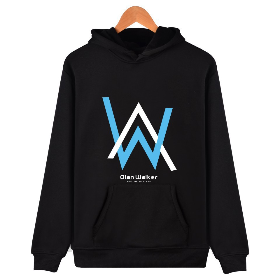 Hoodie Men's Alan Walker Celebrity Inspired Clothes Faded Hoodie DJ Jacket Men's And Women's COUPLE'S Pullover Hoodie