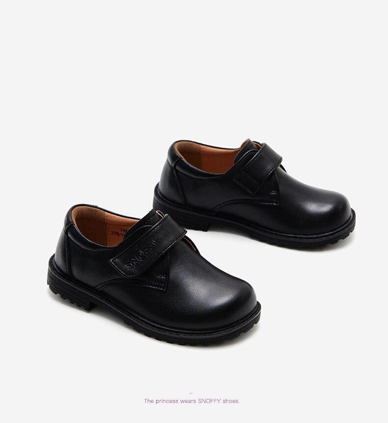 2019 Outono Crianças Sapatos de Couro Genuíno