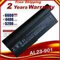 Laptop batarya AL23-901 AP23-901 AP22-1000 Asus Eee PC 1000 1000H için 1000HA 1000HD 1000HE 1000HG 901 904HD hızlı kargo