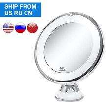 Makeup Vanity Mirror With 10X Lights LED mirror light LED makeup mirror with led light зеркало для макияжа espejo de maquillaje