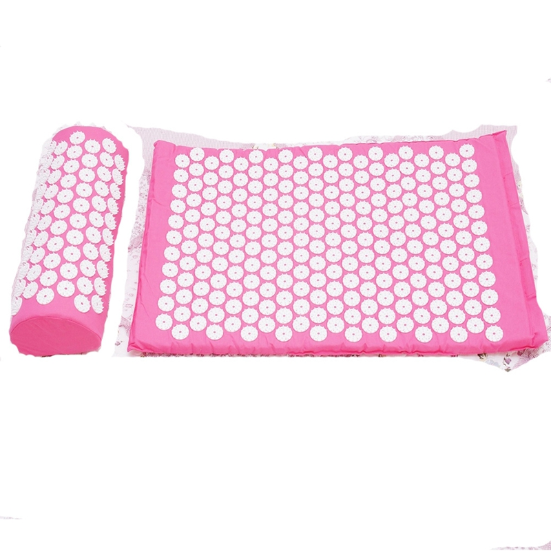 Relaxing Acupressure Massage Mat with Pillow set for Stress Pain and Tension releasing 2