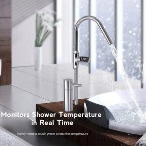 Image 5 - Youpin termómetro de ducha de agua en casa con pantalla LED, medidor de temperatura eléctrico autogenerador para el cuidado del bebé