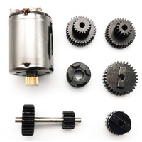 1 Set Metal Gears With 370 Motor for WPL Speed Change Gear Box for B1 B24 B16 B36 C24 1/16 4WD 6WD Rc Car