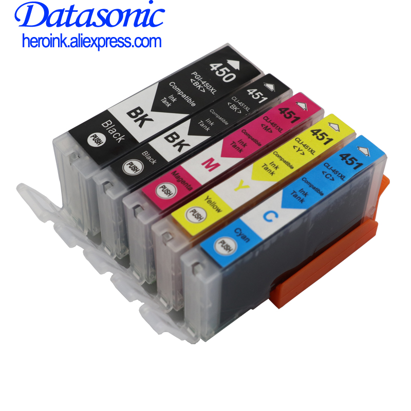 DAT compatible ink cartridge for Canon PIXMA ip7240 MG5440 MG6340 MG6440 <font><b>MG7140</b></font> mg7540 Ix6540 iX6840 Ip8740 MX924 pgi450 pgi-450 image