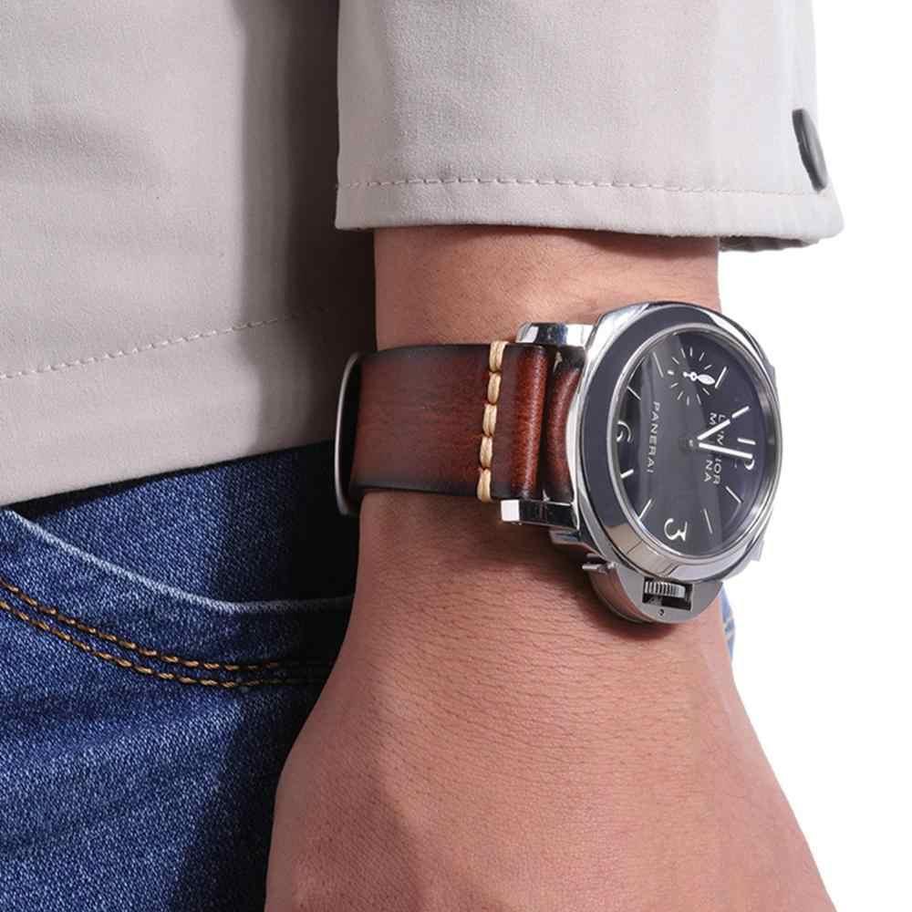 2019 חדש אמיתי עור רצועת 22mm טהור יד-שטף עור רצועת s2/s3 עור רצועת עבור גברים שעון אביזרים