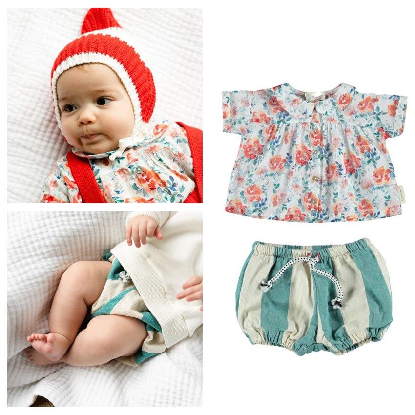 Pre-sale ZMHYAOKE-Piu* 2020 SUMMER Girls T-shirt Outfits Toddler Girl Clothes First Christmas Boy Clothes Girls Beach Kids Sets
