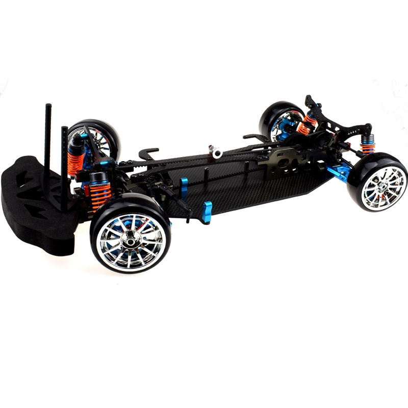 Aluminum And Carbon Shaft Drive 1:10 Touring Chassis Body Kit For TT01 TT01E