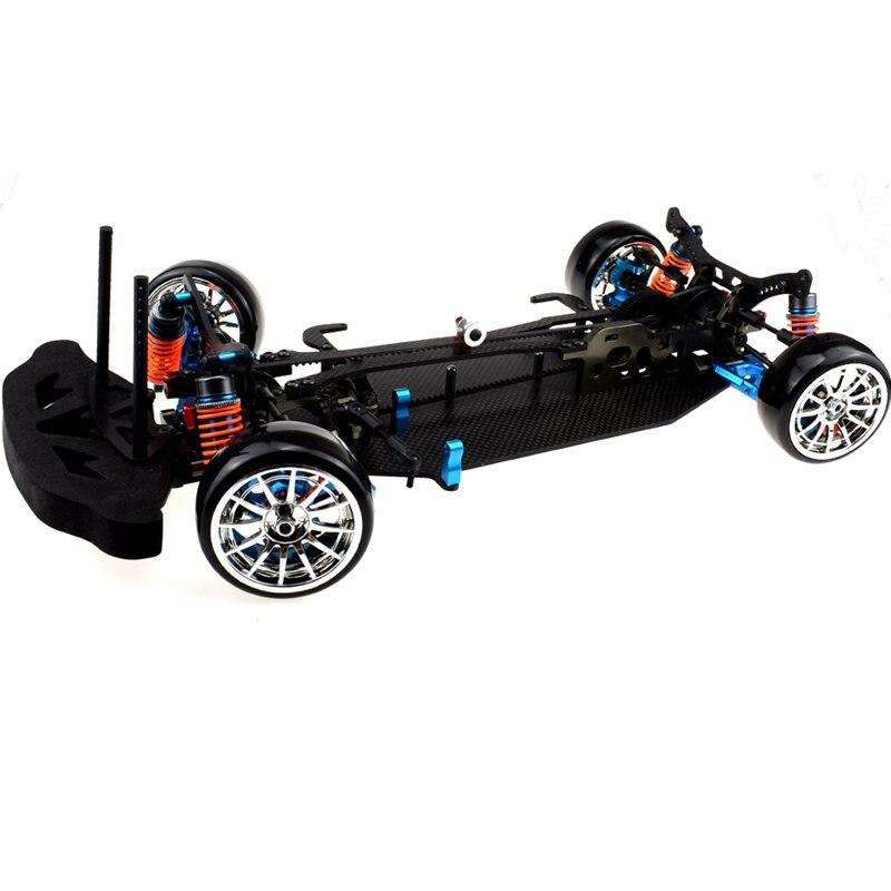 Aluminum And Carbon Shaft Drive 1:10 Touring Chassis Body Kit For TT01 TT01E