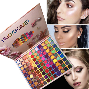 99 Color Eye Shadow Pearlescent Matte Glitter Powder Sequins Easy To Color Without Flying Powder Eye Shadow Palette TSLM1