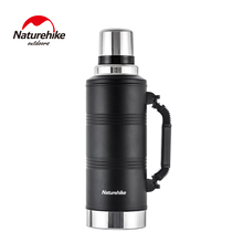 Naturehike 1.25L/2.2L Water Bottle Stainless Steel Thermal Cup Portable Sport Kettle Large Capacity Outdoor Travel Equipment