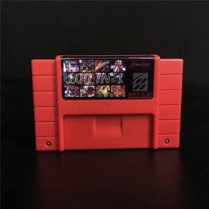 Image 1 - スーパー100で1ビデオゲームカートリッジゲーム悪魔城ドラキュラx ivコントラiiiファイナルファイト3はがメガ男7テトリス