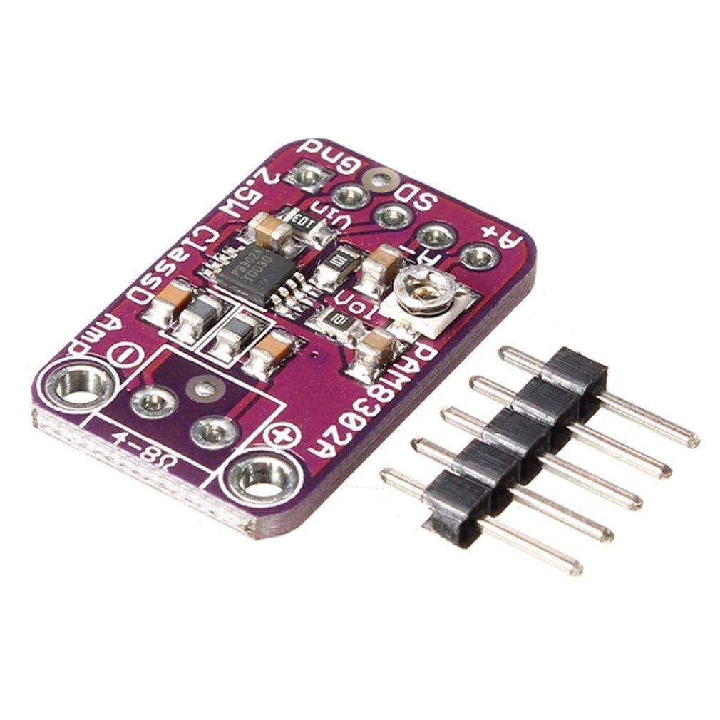 PAM8302 2.5W Class D Single Channel Solo Audio Amplifier Board Amp Module Development Tools For Arduino