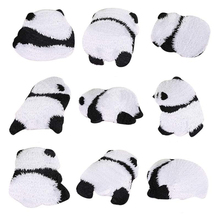 Cute Panda Iron On Patches for Clothing of The Breach Embroidery Applique DIY Hat Coat Pants Sewing Accessories Cloth Sticker breach of faith
