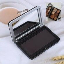 Leere Magnetische Palette Box Lidschatten Erröten Pow der Kosmetische Pan DIY verpackung