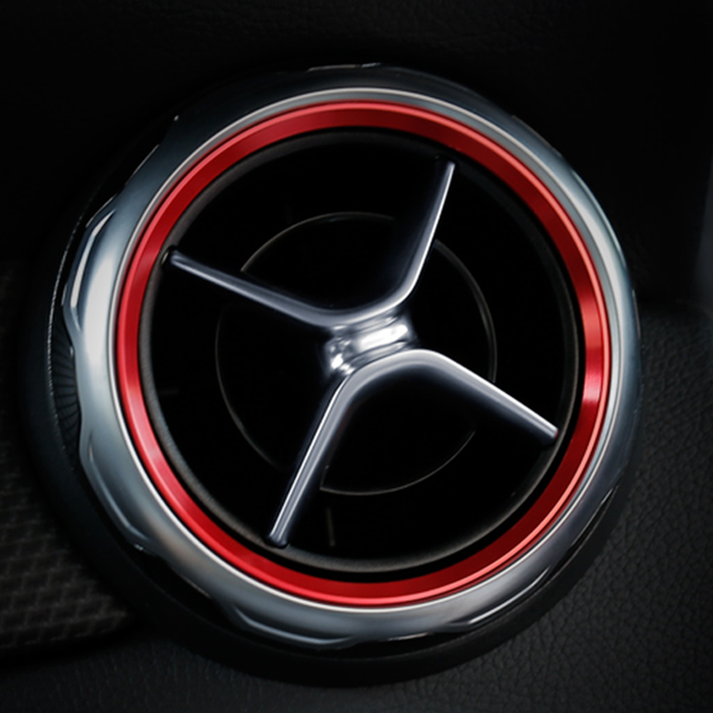 For Benz Metris Vito V Class W447 2014-2016 Red Side Air Condition Vent Lid Trim