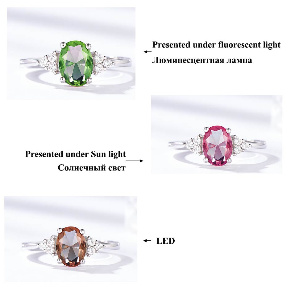 Hf50b8063cf134ae7bd056fea6f2c3eb7a Kuololit Diaspore Zultanite Gemstone Ring for Women Solid 925 Sterling Silver Color Change Ring for Wedding Engagement Jewelry