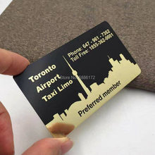 Высшее количество визитная карточка из нержавеющей стали толщиной