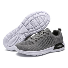 Mijia New style Men shoes fly woven lightweight casual running trendy Rubber Sneakers Korean-style fashion