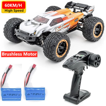 High Speed Drift Electric 2.4G 4WD 60km/h RTR RC Racing Car Shock Absober Shockproof Vehical Model Brushless Car Toy Boy Gifts image