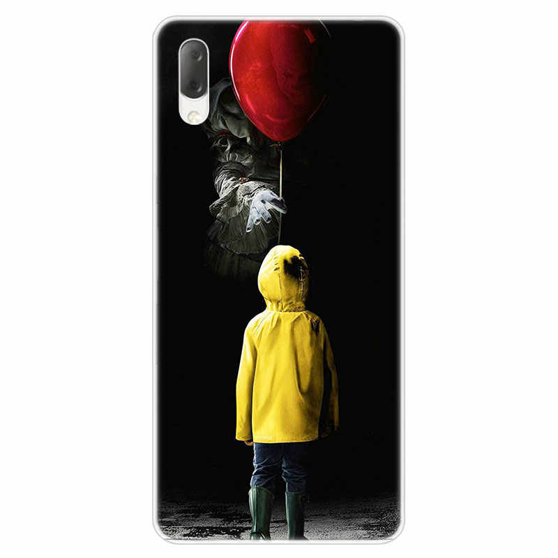 Hot Clown Joker Hard Case For Sony Xperia L1 L2 L3 X XA XA1 XA2 Ultra E5 XZ XZ1 XZ2 Compact XZ3 M4 Aqua Z3 Z5 Premium Cover