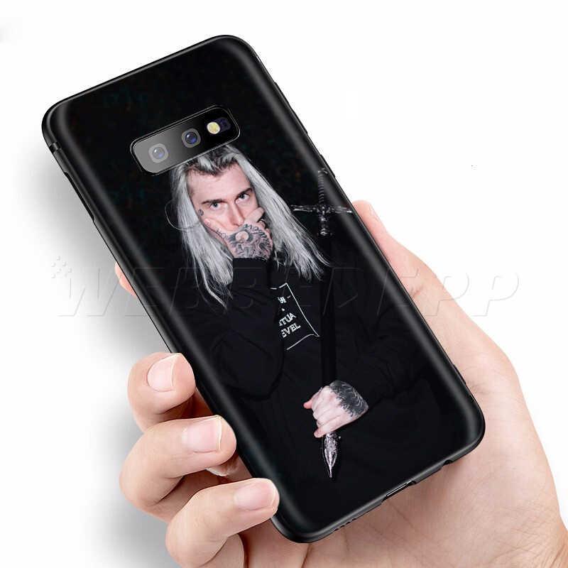 Webbedepp Mercury retrograd Ghostemane samsung kılıfı Galaxy S7 S8 S9 S10 artı kenar not 10 8 9 A10 A20 A30 A40 a50 A60 A70